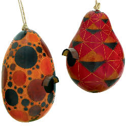 gourd bird house fairtrade made