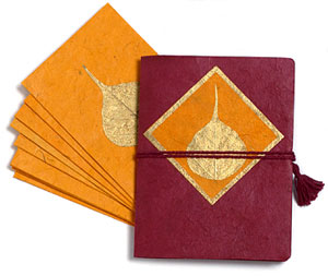 note cards made fair trade in tibet