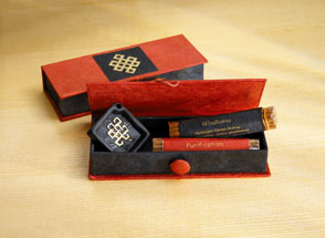 incense box knot incense fairtrade gift